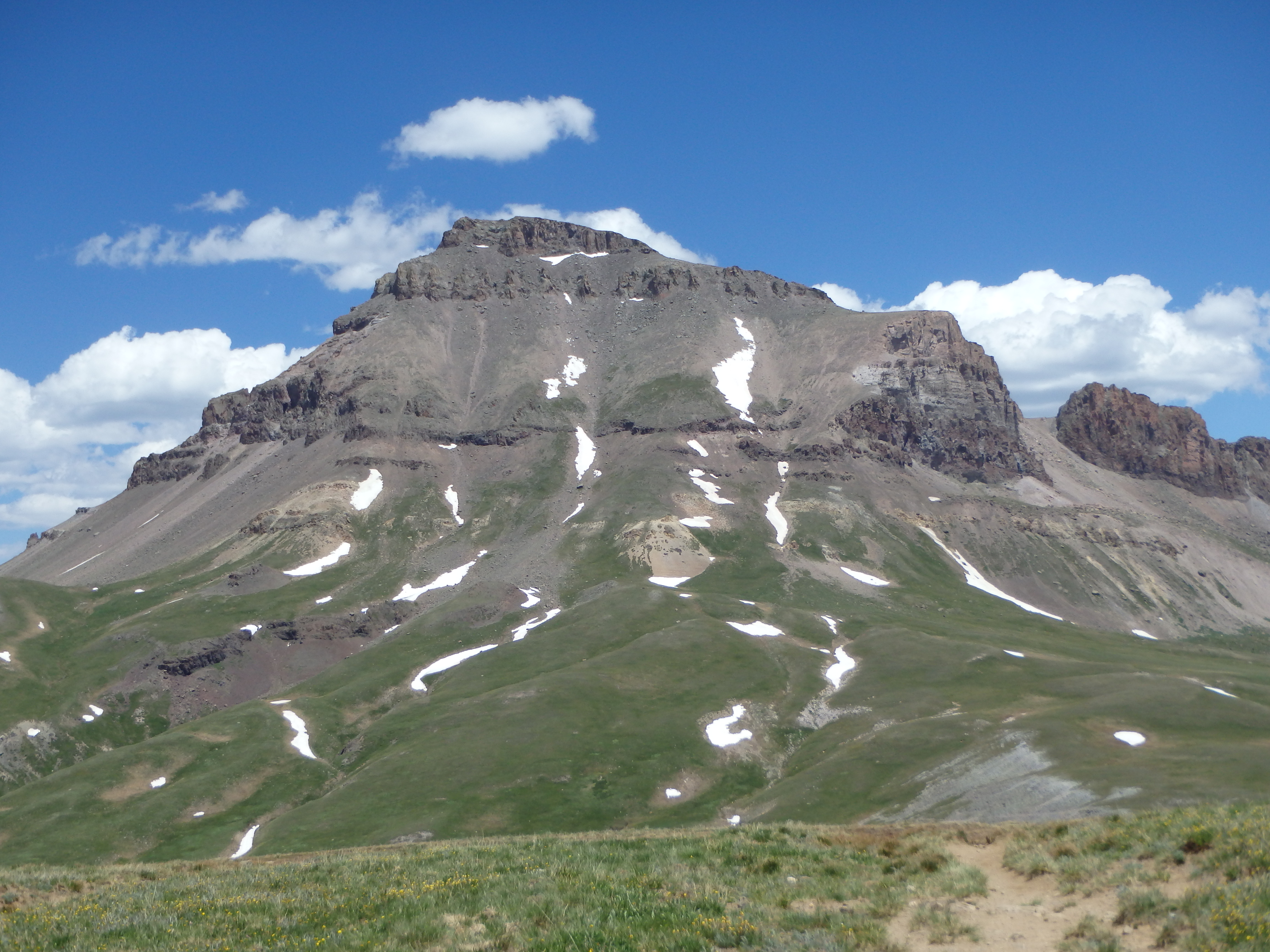 Uncompahgre on the hike out.