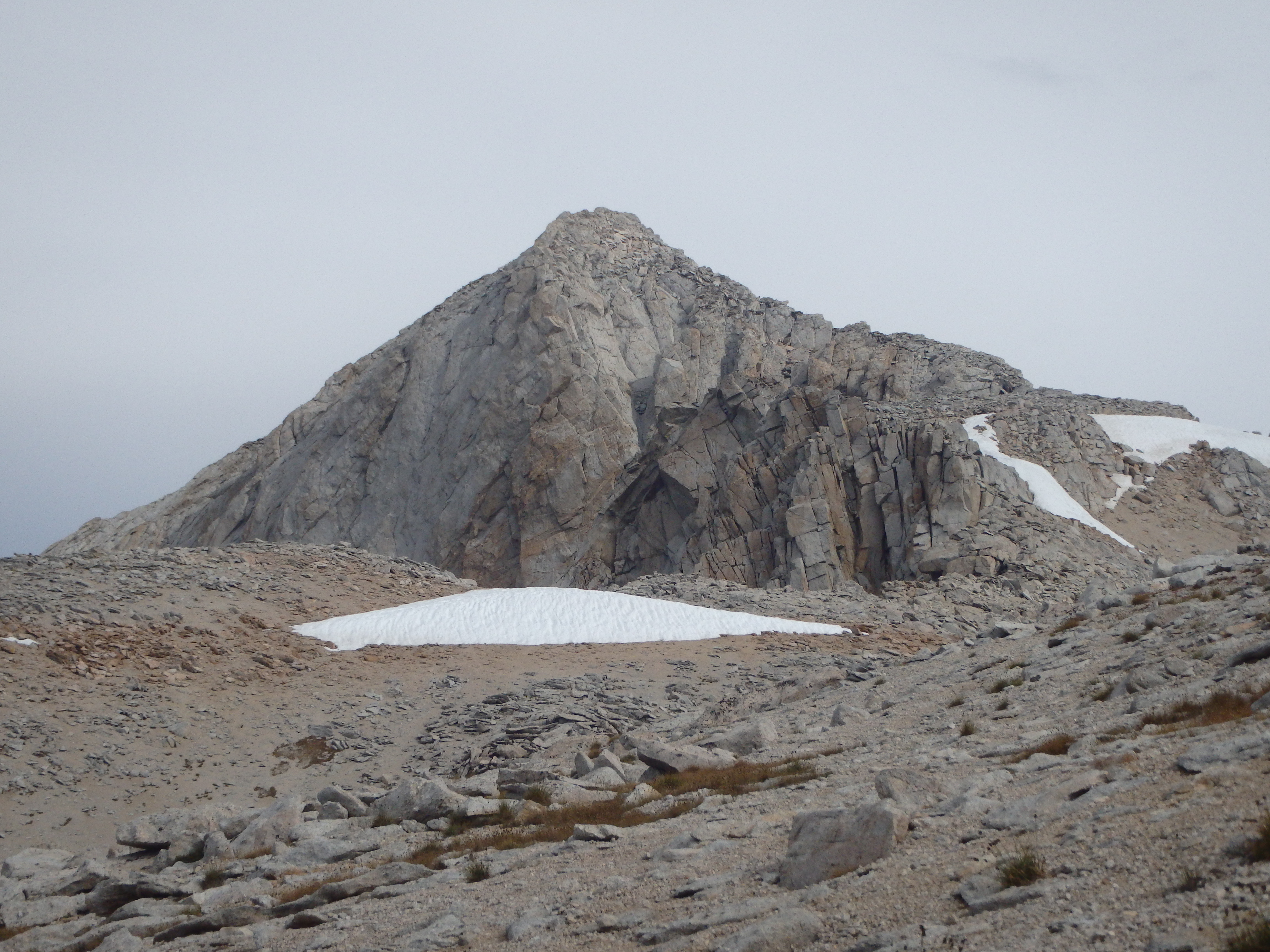 Class III summit of Mount Conness.